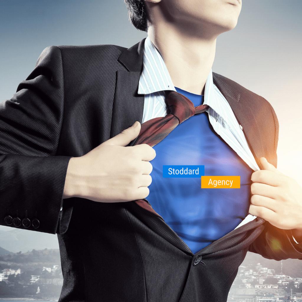 Superhero to save small businesses