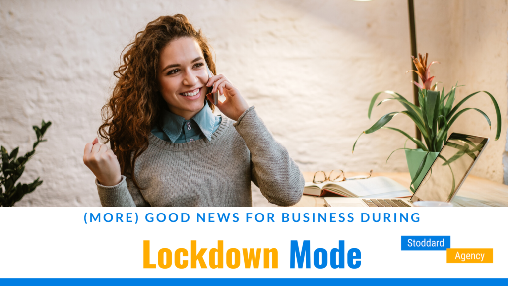 Good News for Businesses During Lockdown